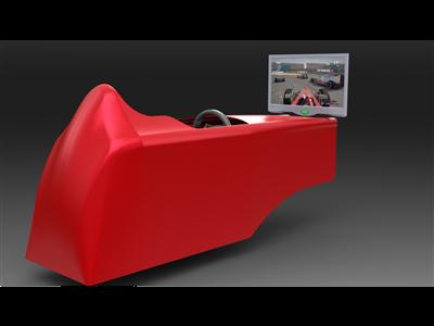 模拟F1驾驶舱