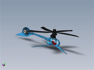 RC直升机概念555