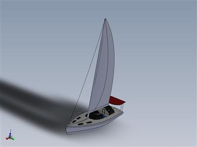 太阳能帆船