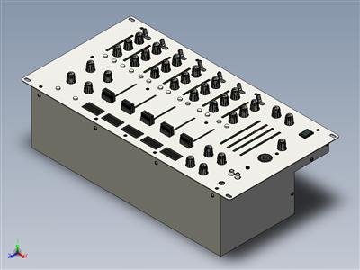 HDJ-5USB-音响控制台完整结构图