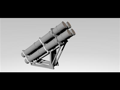 鱼叉导弹发射器