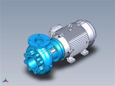 达卡CL14离心泵-电机20CV