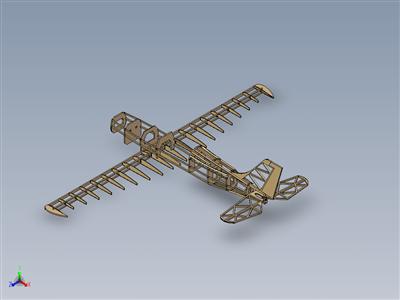 梭鱼飞机结构