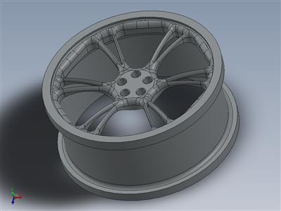 合金车轮概念