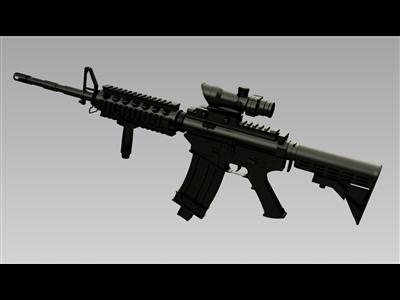 小马M4A1卡宾