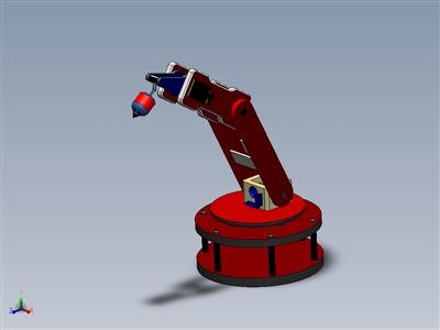 喷漆机机械臂