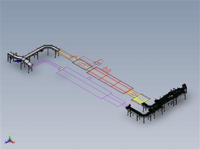KSA水厂-末端解决方案-链式输送机-滚筒式输送机