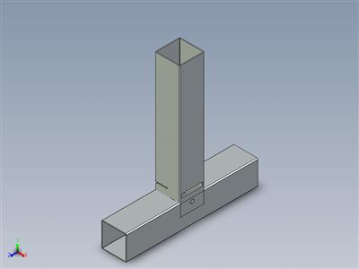 INOX 304型长方形钢材装配