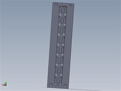 骨折钢板模具