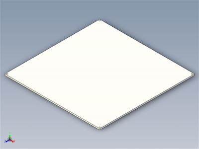 用于3D打印机的热床MK3