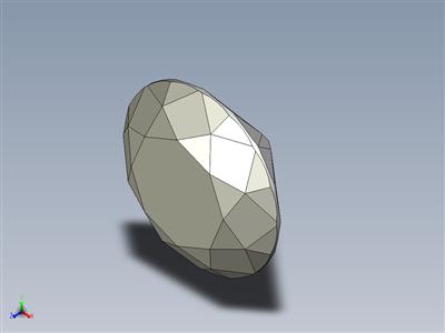 钻石-理想切割-完全参数化