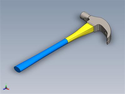 Solidworks教程#149如何使用Solidworks轻松设计Solidworks中的爪锤