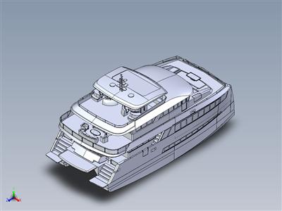 25米-双体船