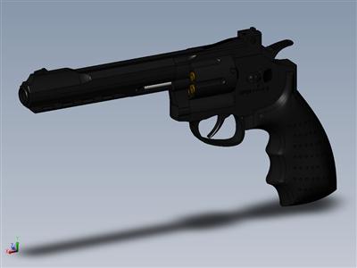 左轮手枪(气动武器)