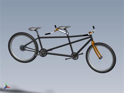 双人自行车-2019