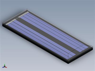 PCB安装太阳能光伏电池40x15x2.5