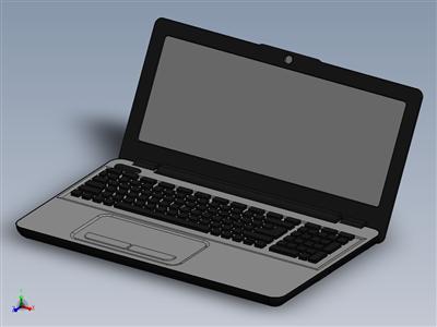 笔记本电脑3D设计