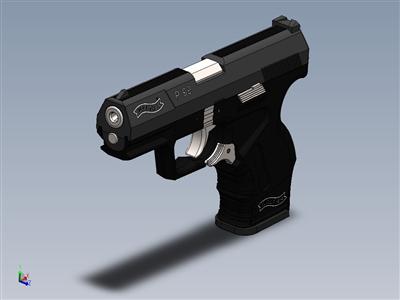 沃尔特P99气枪完成