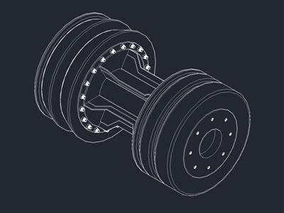 AutoCAD-清管器装置