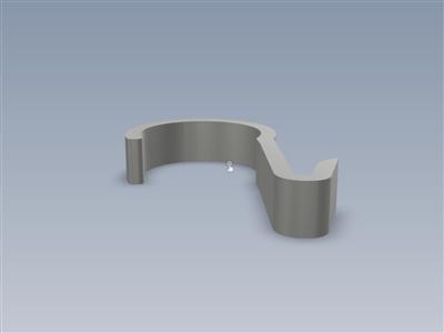 一个简单的2英寸管钩