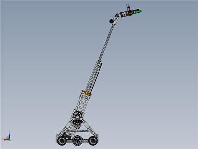 5951团队伸缩臂frc机器人项目