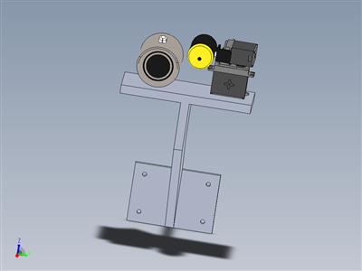 带摄像机的二自由度伺服模型