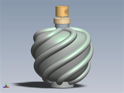 香水瓶模型