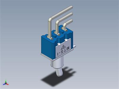 微型拨动开关MTS-1xx PC-V终端