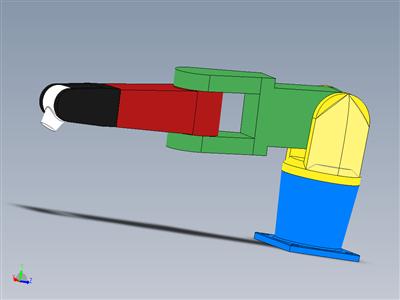 abb机器人solidworks模型