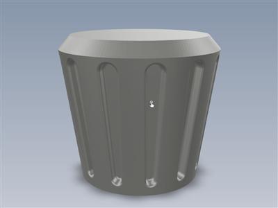 另一个散热器旋钮(fusion 360参数化)