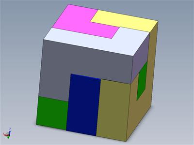 拼图立方体