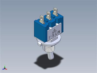 微型拨动开关MTS-1xx焊接终端