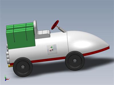 玩具车-SOLIDWORKS