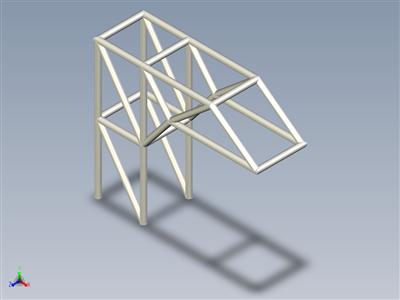 三维结构件分析