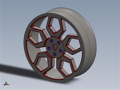 兰博基尼轮胎轮辋
