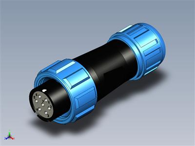 Weipu连接器SP13公母组件