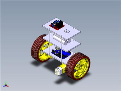 基于Arduino的自平衡机器人