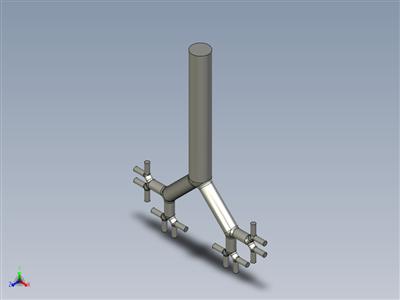 气管支气管(Weibel模型)