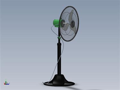电动立式风扇
