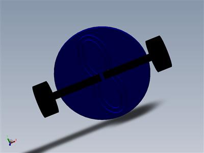 solidworks中凸轮机构反作用双活塞