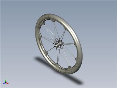 特殊碳纤维轮圈和轮辐