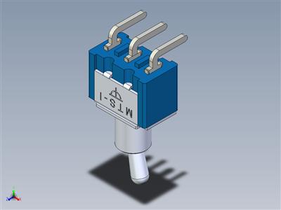 微型切换开关MTS-1xx PC-H端子
