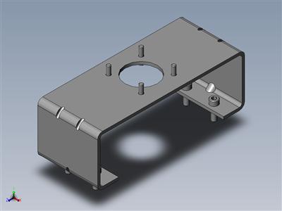 定位器安装桥架1